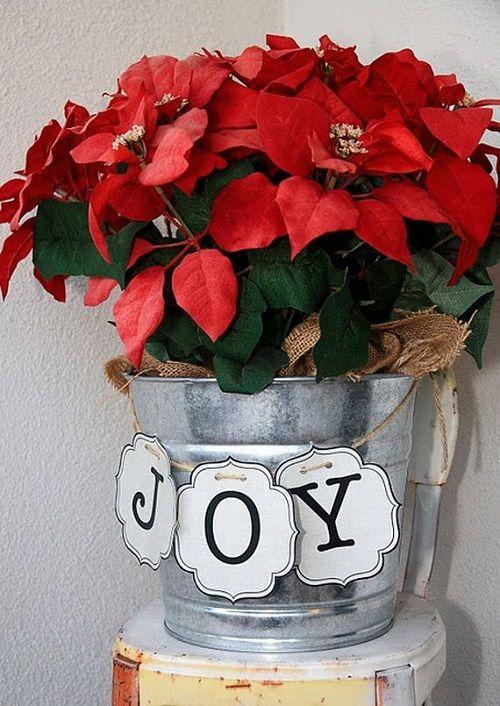 estilo decoracion de navidad flor de pascua (4)