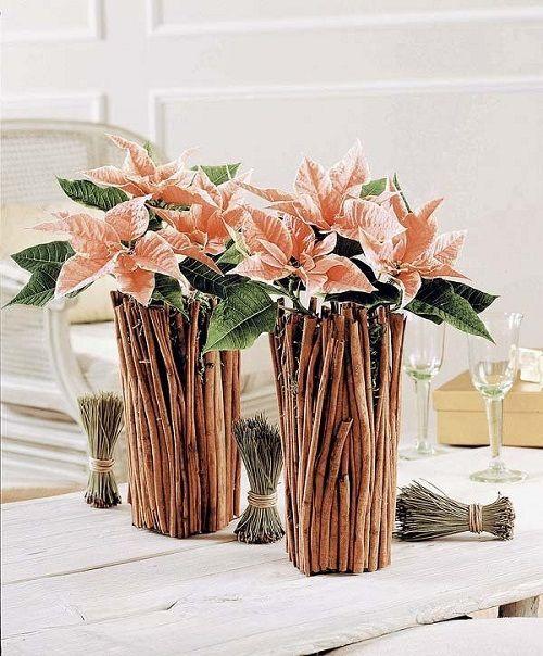 estilo decoracion de navidad flor de pascua (6)