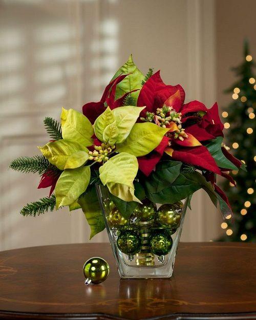 estilo decoracion de navidad flor de pascua (8)