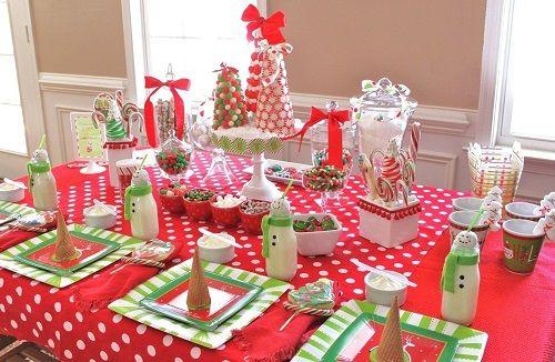 mesas navideñas originales