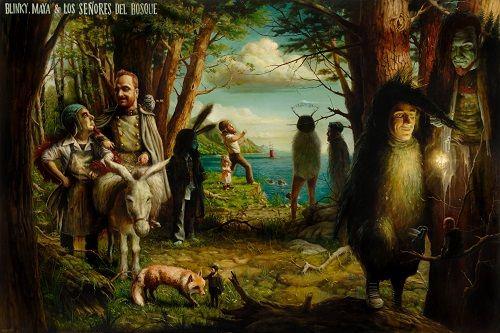 José Luis Serzo- Blinky,Maya y los señores del bosque