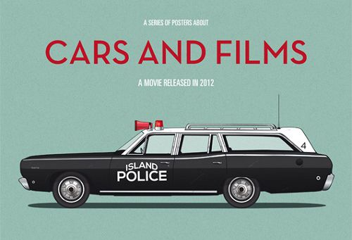 Cars And Films, las ilustraciones de Jesús Prudencio