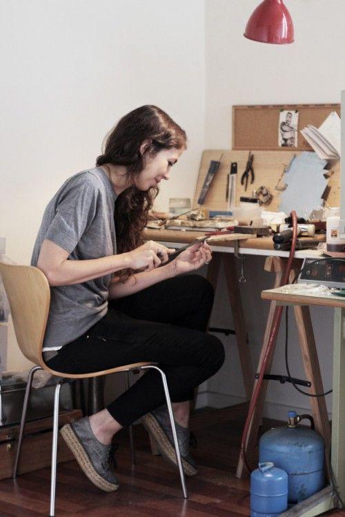alba casares diseñadora taller