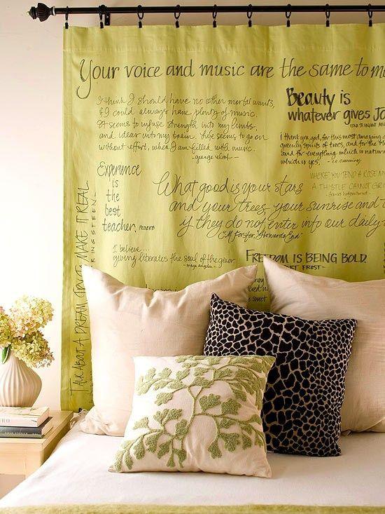 cabeceros originales decoracion dormitorios