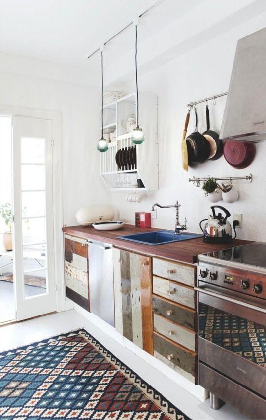 pantone marsala decoracion interior cocina