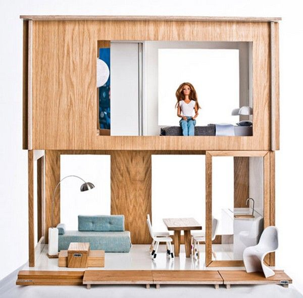 contemporary-Barbie-doll-house