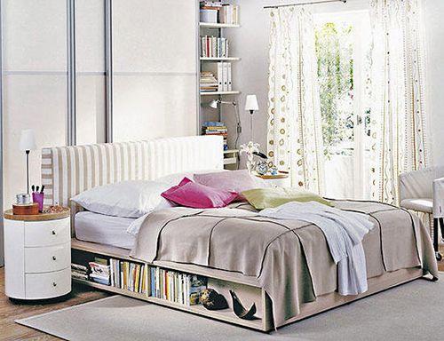 espacio pequeño ideas decoracion dormitorios camas cajoneras