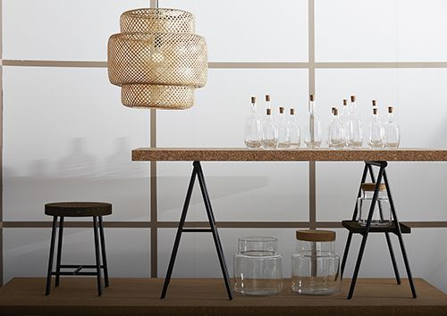 ikea sinnerlig coleccion 2015 ilse crawford studio ilse muebles decoracion corcho materiales naturales