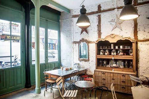 il tavol verde interior cafeteria organica