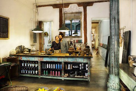 il tavolor verde dueños restaurante tienda decoracion madrid