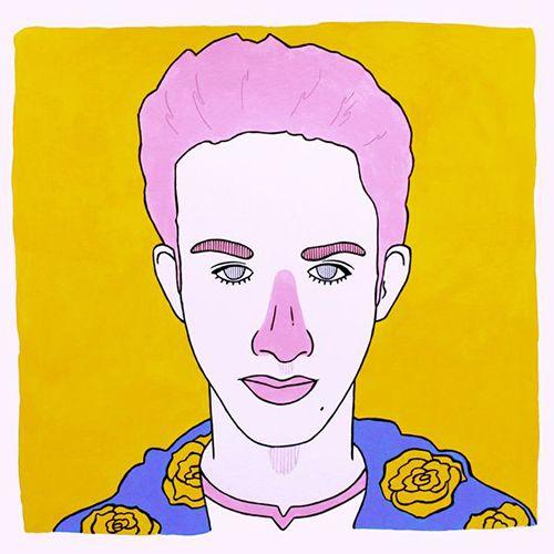 retrato pau sanz i vila tricolor ilustrador