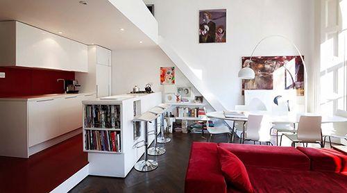 ideas decoracion pisos pequeños aprovechar espacio muebles unica sala