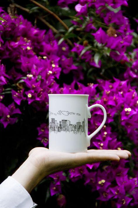 taza studio duermevela city mug