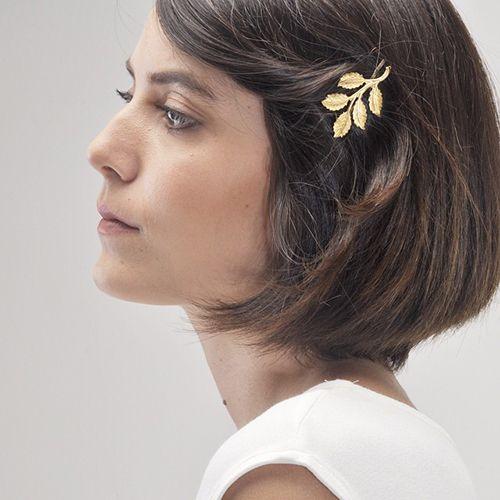 accesorio broche pelo cabello srta bolitas diseño