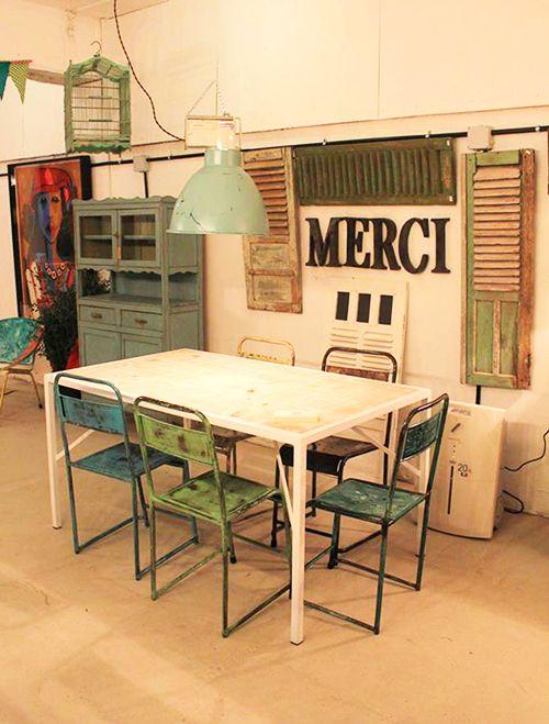 calma chechu bilbao feria venta muebles decoracion resturados de importacion