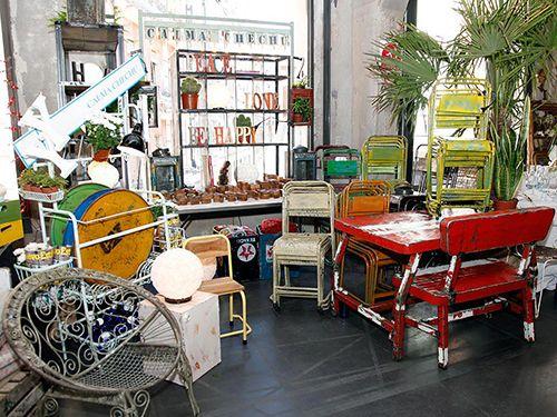 Calma chechu muebles muy especiales de todos los rincones - Muebles restaurados vintage ...
