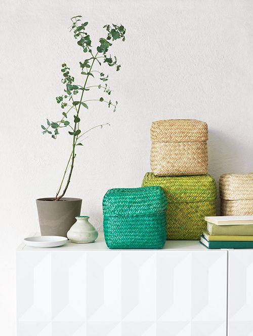 cestas ikea nipprig coleccion sostenible