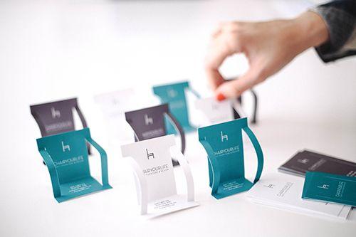 chair your life tarjeta empresa original estudio diseño producto