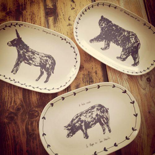 chichinabo inc ceramica diseño vajilla platos