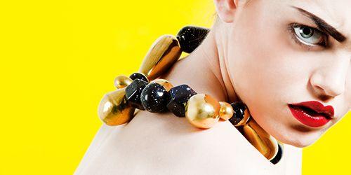 coleccion black eyes joyas diseño julieta alvarez collar lookbook