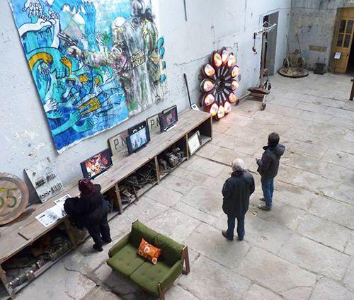 el hambre exposicion arte vanguardia la neomudejar madrid atocha
