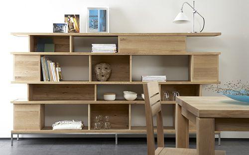 estanteria ethnicraft madera mesa muebles diseño sostenible