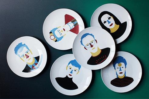 jose antonio roda ideas decoracion platos diseño vajilla ilustrada ceramica