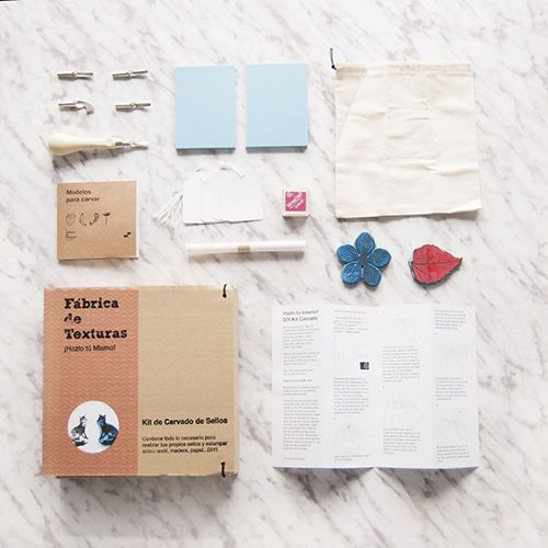 kit diy fabrica de texturas madrid