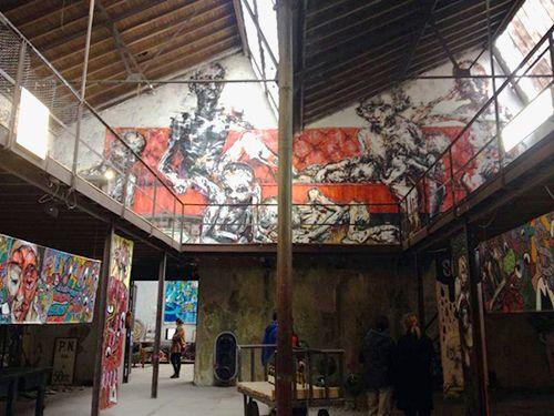 la neomudejar interior arte vanguardia madrid atocha