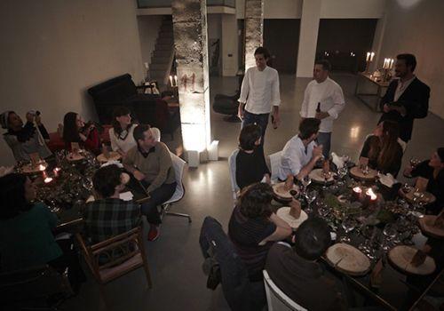 le nomade supper club madrid pop up restaurante cenas clandestinas