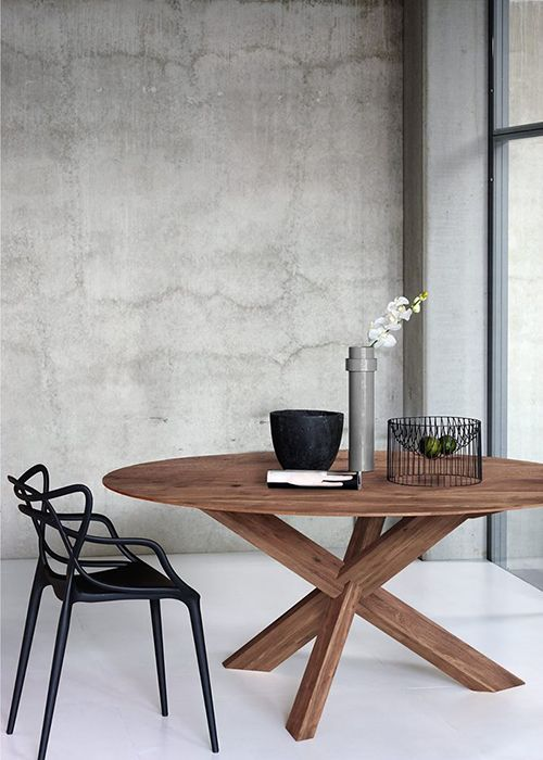 mesa madera comedor diseño sostenible ethnicraft