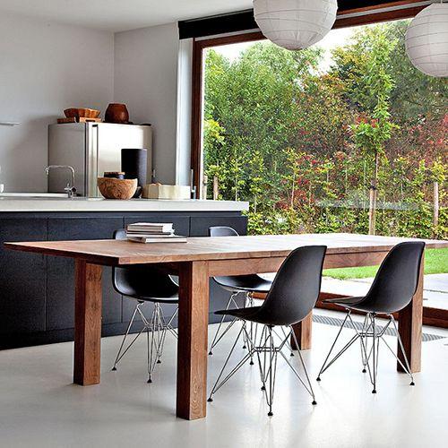 mesa madera mazica diseño firma belga ethnicraft sostenible