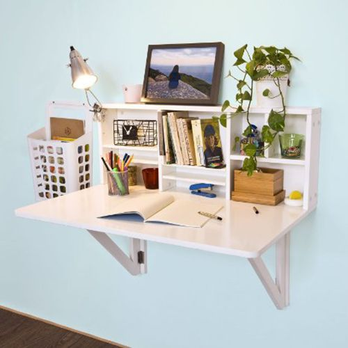 mesa plegable ahorrar espacio pisos pequeños muebles decoracion