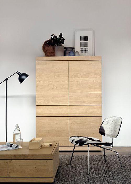 mesita cafe armario catalogo ethnicraft diseño sostenible muebles madera
