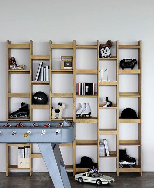 mozaic estanteria madera ethnicraft diseño muebles sotenible