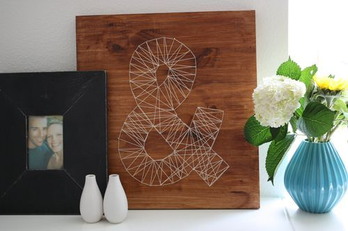 nail string art decoracion ideas diy