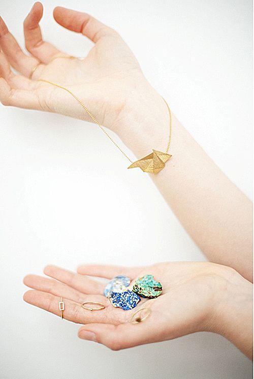 piedras anillo brazalete joyas diseño migayo minimalismo