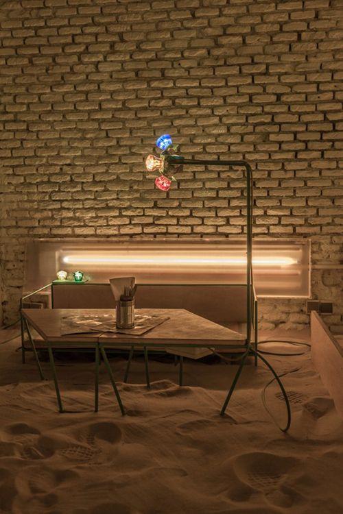 planta baja restaurante ojala malasaña madrid arena playa chiringuito