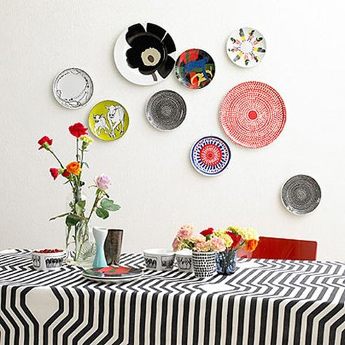 platos pared ceramica ideas decoracion