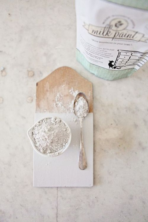 polvo milk paint decoracion miss mustard seed