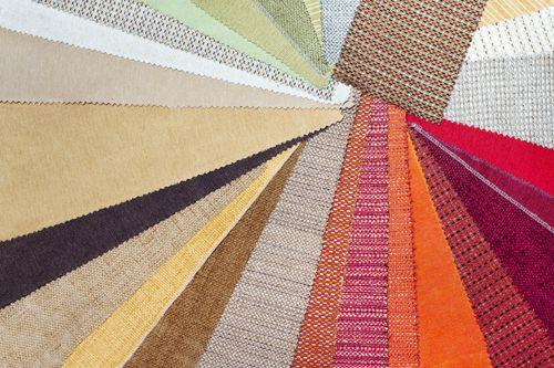 tapicerias de colores
