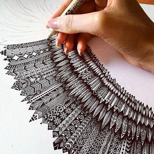 Zentangle, arte y meditación