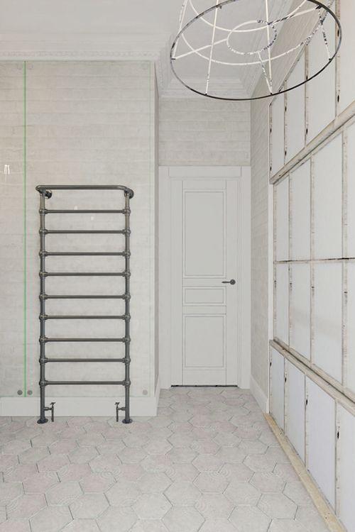 baño apartamento pequeño praga interiorismo decoracion industrial