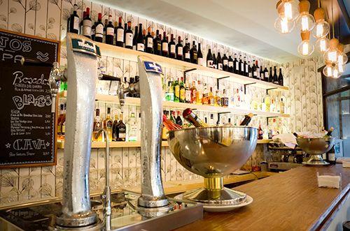 barra el apartamento madrid restaurante barrio de las letras