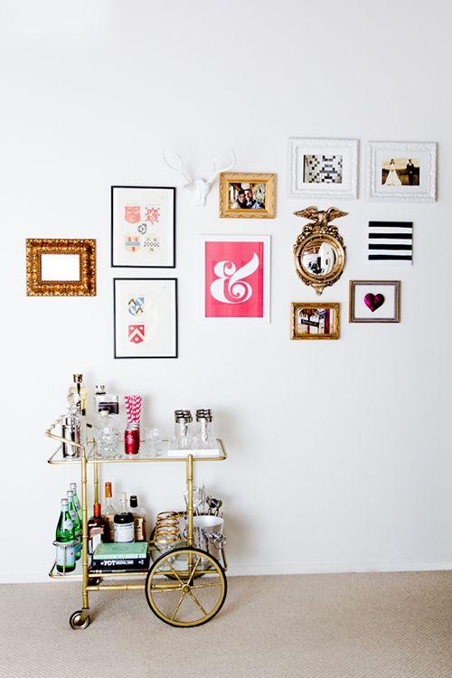 camarera carrito auxiliar ideas hogar decoracion