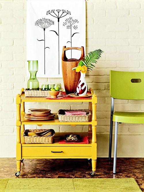 camarera cocina carrito auxiliar ideas decoracion almacenaje