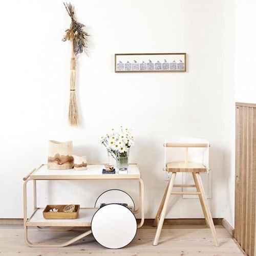 camarera minimalista madera ideas almacenaje decoracion