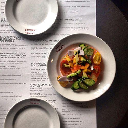 comida plato celso y manolo restaurante madrid