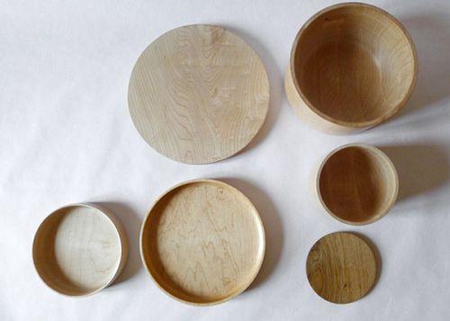 cuencos madera david santiago artesano cantabria diseño cocina