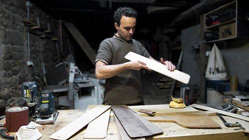 david santiago artesano diseño cocina madera
